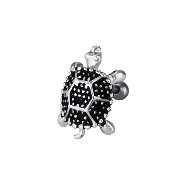 piercing h lix oreille argent tortue m tal achat vente barre droite so chic bijoux piercing. Black Bedroom Furniture Sets. Home Design Ideas