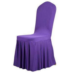 50 housse de chaise mariage achat vente 50 housse de chaise mariage pas cher cdiscount. Black Bedroom Furniture Sets. Home Design Ideas