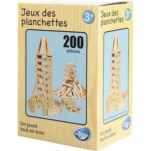 jeu de planchettes en bois 200 planchettes ref 114