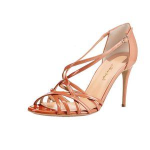 ESCARPIN Nancy Jayjii: Sandales en cuir véritable dégradées