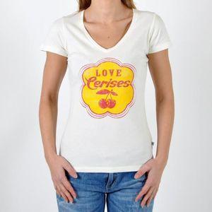 T-SHIRT T-Shirt Le Temps Des Cerises Daguette Blanc Cassé