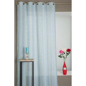 rideaux lin naturel achat vente rideaux lin naturel pas cher cdiscount. Black Bedroom Furniture Sets. Home Design Ideas