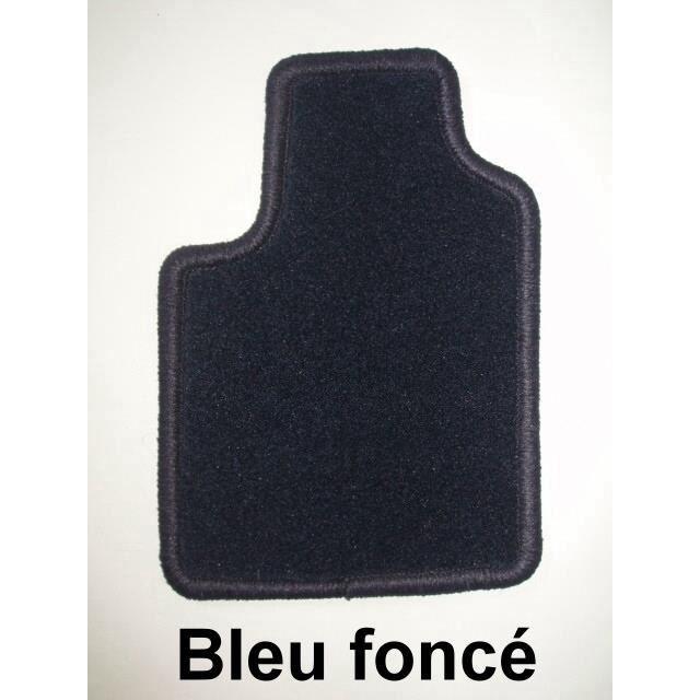 renault espace 10 02 4 tapis en moquette bleu achat vente tapis de sol renault espace 10 02