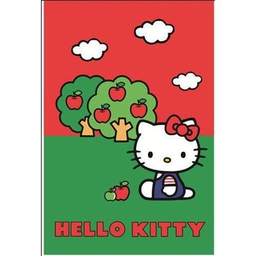 Digital Republic 12730 Tapis D Co Hello Kitty Polyamide Achat Vente Tapis Cdiscount