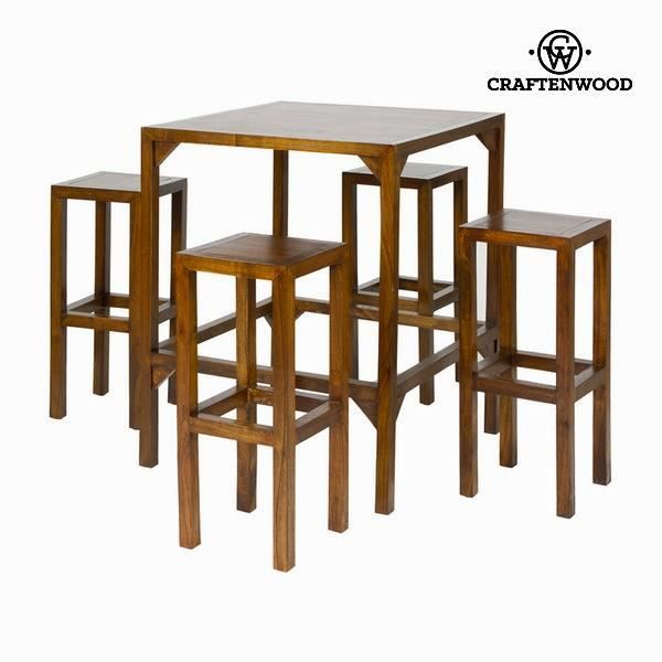 Table Haute Avec 4 Tabourets Collection Franklin By