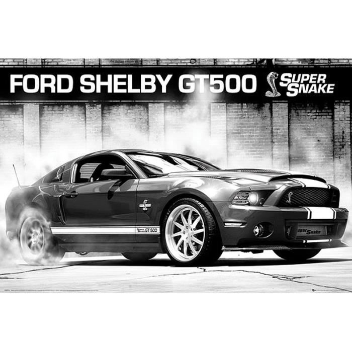 Shelby Gt Coupe: Poster Ford Mustang Shelby GT500 Supersnake