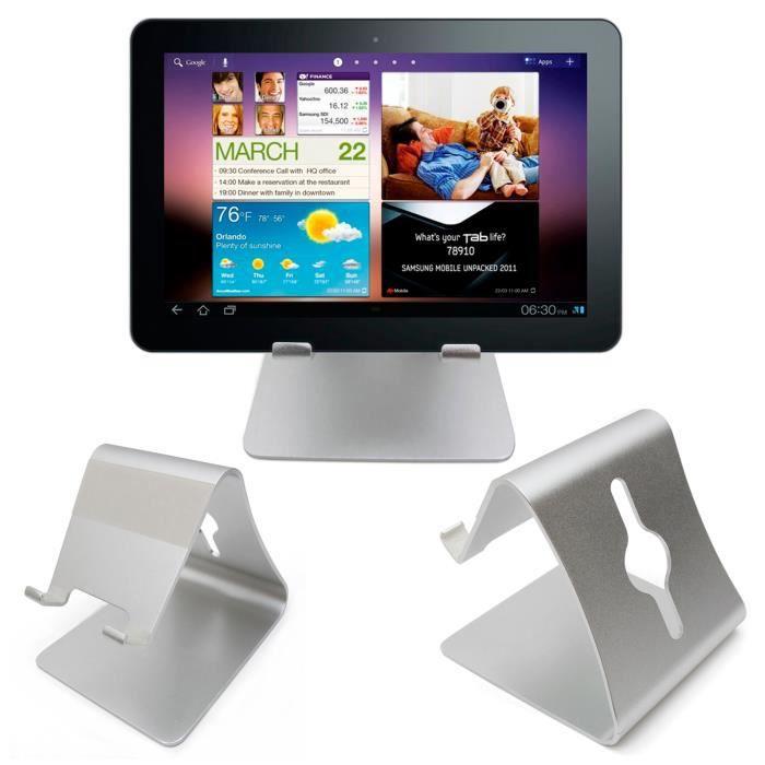 support robuste de bureau pour samsung galaxy tab s et tab. Black Bedroom Furniture Sets. Home Design Ideas