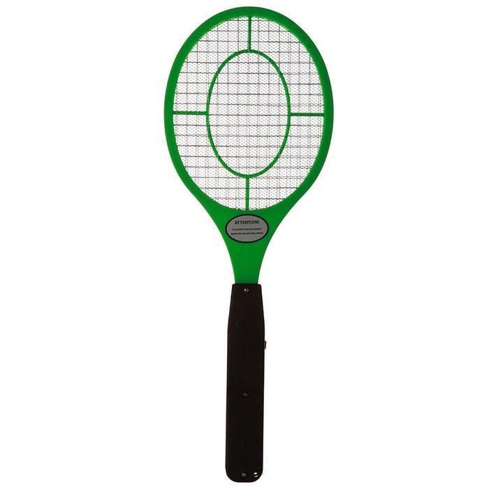 Raquette anti insectes mouches moustiques vert achat - Raquette anti moustique ...