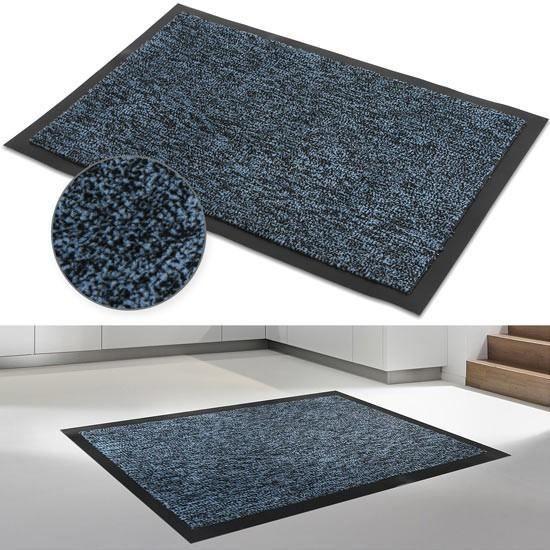 Paillasson Bleu Taille Au Choix 120 X 180 Cm Achat