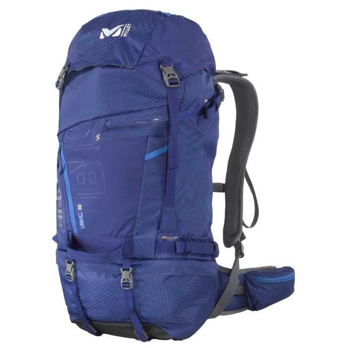 sacs dos 30 litres millet ubic 30 ultra blue prix pas cher les soldes sur cdiscount. Black Bedroom Furniture Sets. Home Design Ideas
