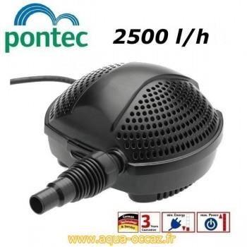 Pompe eau bassin de jardin et tang 2500 l h achat for Pompe de bassin filtrante