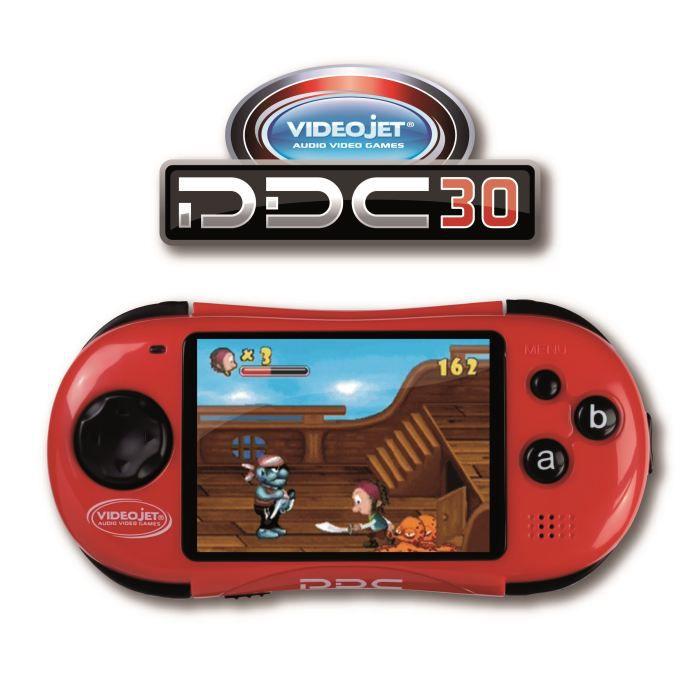 La Meilleure Console Portable: VIDEOJET Mini Console Portable PDC 30 Rouge