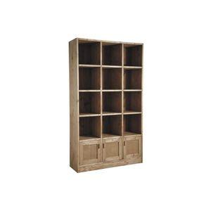 etageres 3 cases achat vente etageres 3 cases pas cher cdiscount. Black Bedroom Furniture Sets. Home Design Ideas