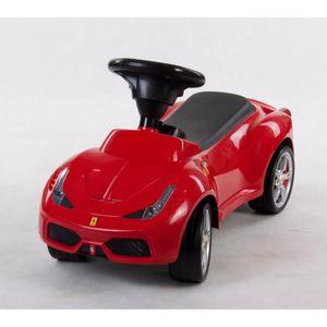 PORTEUR - POUSSEUR Porteur Ride-On en Plastique pour Enfant Ferrari R