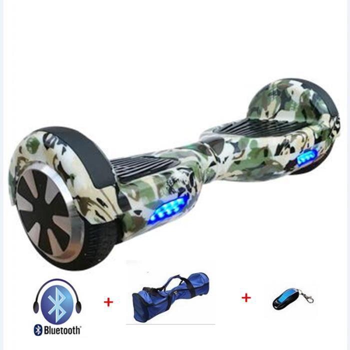 ensemble gyropode segway hoverboard smart board camouflage. Black Bedroom Furniture Sets. Home Design Ideas
