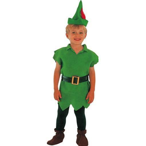 Costume enfant robin des bois taille 2 4 ans achat - Deguisement enfant robin des bois ...