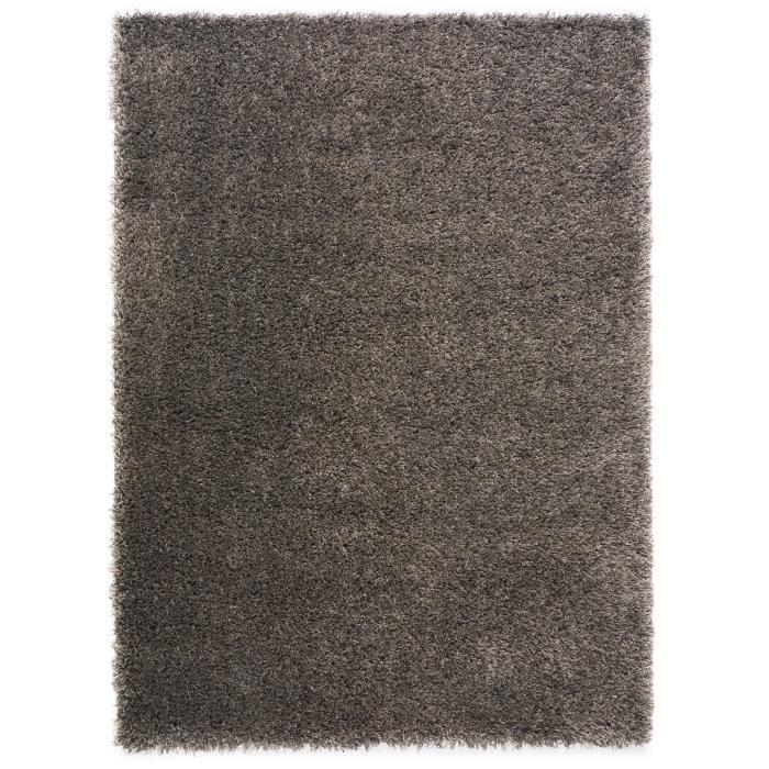 Benuta tapis de couloir poils longs coco marron 80x300 for Tapis pour long couloir