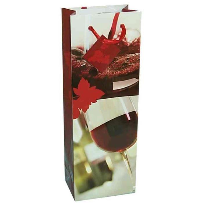 sac cadeau pour bouteille vin rouge achat vente papier cadeau sac cadeau pour bouteille. Black Bedroom Furniture Sets. Home Design Ideas