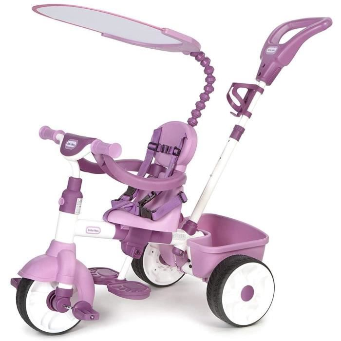 little tikes tricycle evolutif 4 en 1 basic edition rose achat vente tricycle cdiscount. Black Bedroom Furniture Sets. Home Design Ideas