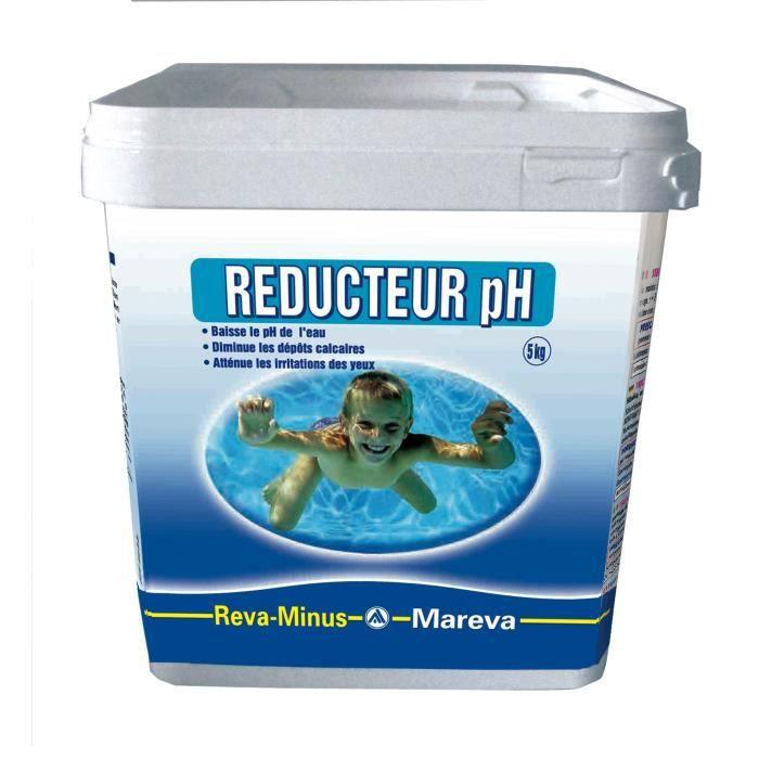 R ducteur de ph poudre mareva 5kg achat vente for Algues piscine ph
