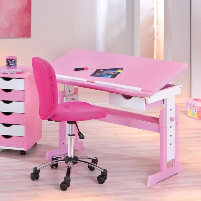 paris prix bureau enfant pupitre cecilia blanc et rose achat vente bureau b b enfant. Black Bedroom Furniture Sets. Home Design Ideas