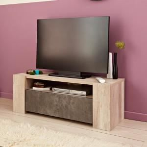 Meuble tv tim o naturel paris prix achat vente for Meuble par nature