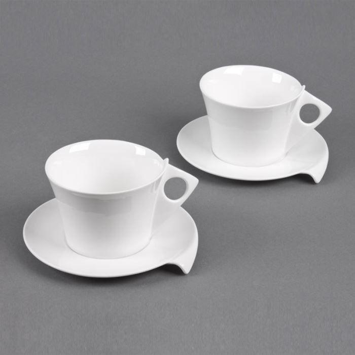 Table passion coffret 2 tasses sous tasses achat - Vaisselle table passion ...
