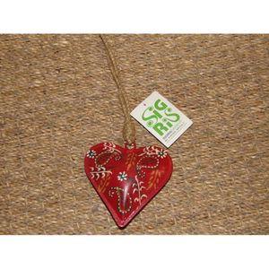 Coeur a suspendre metal achat vente coeur a suspendre - Decoration coeur rouge ...