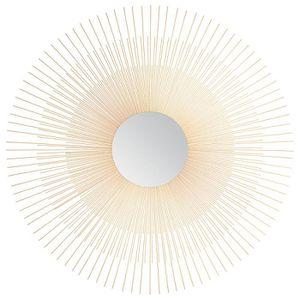 Miroir vintage soleil 76cm