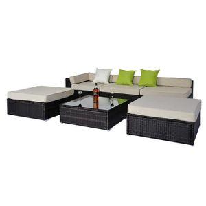 salon de jardin m tal achat vente salon de jardin m tal pas cher les soldes sur cdiscount. Black Bedroom Furniture Sets. Home Design Ideas