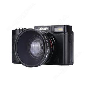 BATTERIE APPAREIL PHOTO AMKOV AMK-R2 24MP 1080P HD Réflex Numérique DSLR C