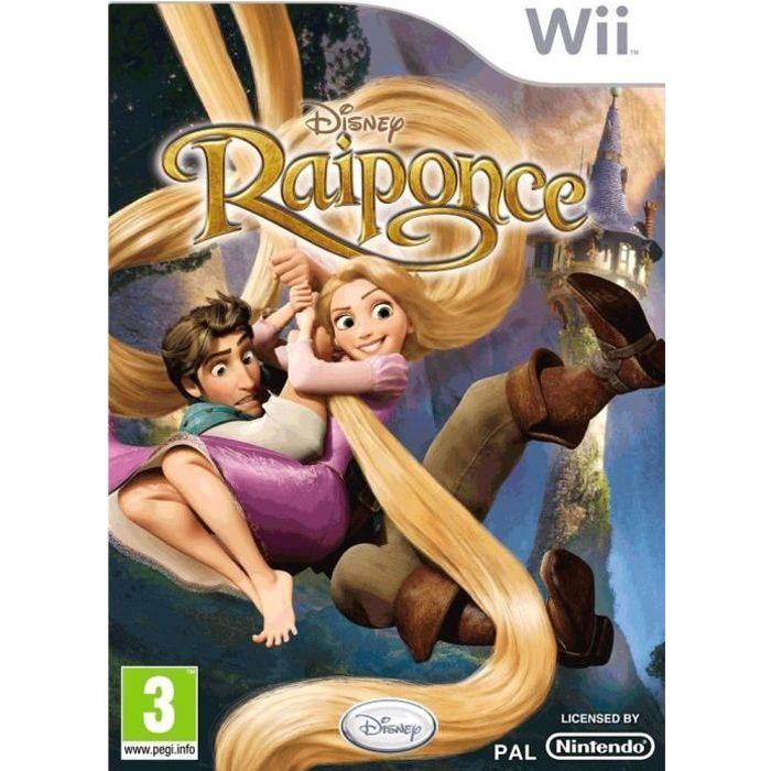 JEUX WII Raiponce Jeu Wii.