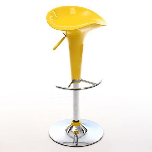 tabouret de bar tulipe jaune achat vente tabouret soldes d t cdiscount. Black Bedroom Furniture Sets. Home Design Ideas