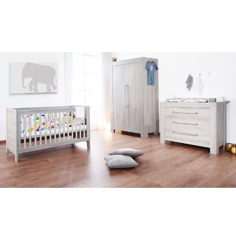 pret a porter bebe puericulture chambre somnio gris f  pin