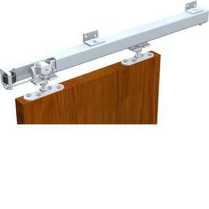 rail porte coulissante dikke houten balken. Black Bedroom Furniture Sets. Home Design Ideas