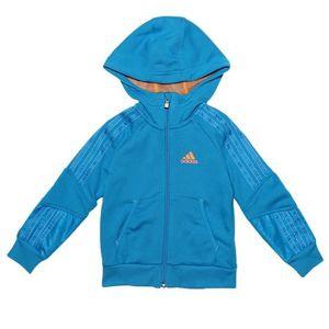veste adidas bleu clair