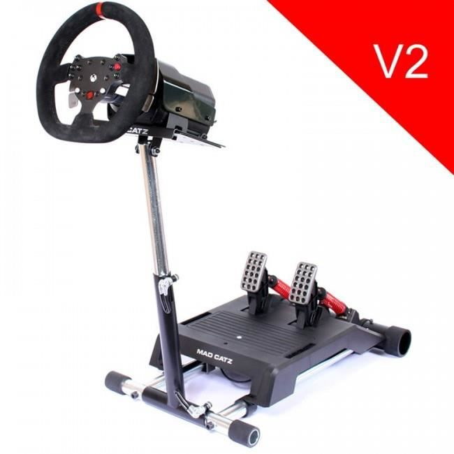 support wheel stand pro pour volant mad catz pro force. Black Bedroom Furniture Sets. Home Design Ideas