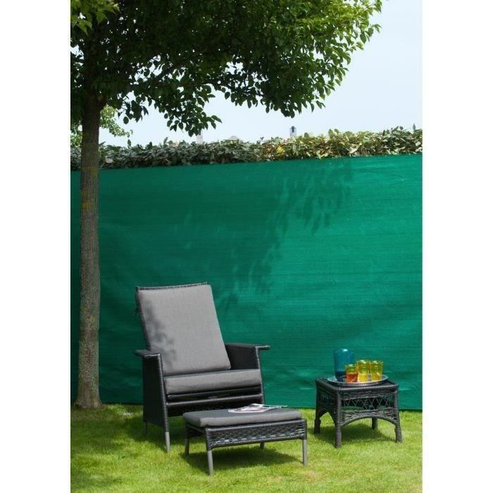 natte brise vue avec set de fixation 1 5x10 m achat. Black Bedroom Furniture Sets. Home Design Ideas