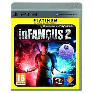 JEU PS3 INFAMOUS 2 PLATINUM / Jeu console PS3