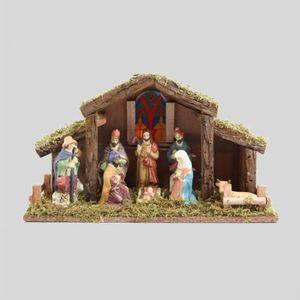 CRÈCHE DE NOËL Crèche de Noël lumineuse Sainte-Clotilde