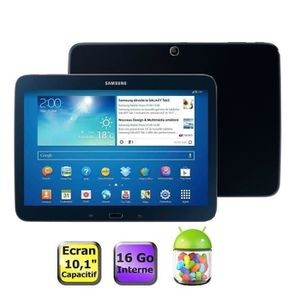 "TABLETTE TACTILE Samsung Galaxy Tab 3 10.1"" 16Go Noire"