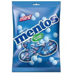 CONFISERIE DE SUCRE Mentos Mint, bonbons menthe mous, sac de 500 gr(en