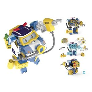 FIGURINE - PERSONNAGE ROBOCAR POLI Véhicule Transformable Poli Action Pa