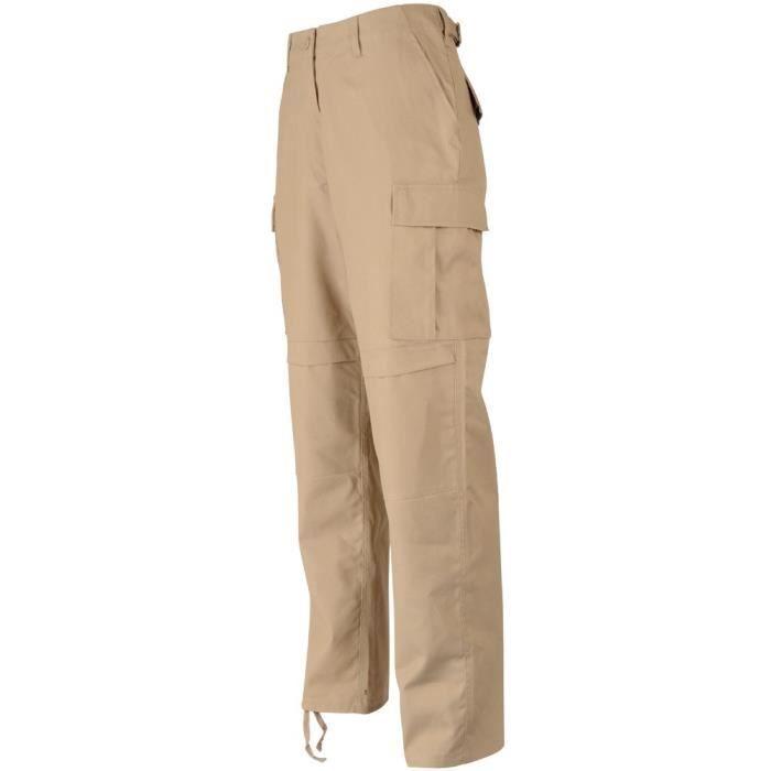Pantalon militaire treillis us m65 bdu beige prix pas - Treillis militaire occasion ...