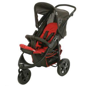 hauck poussette 3 roues viper wheel red. Black Bedroom Furniture Sets. Home Design Ideas