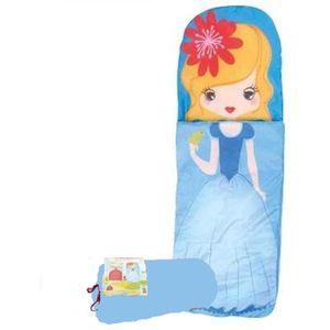 sac de couchage duvet enfant princesse bleue prix pas cher cdiscount. Black Bedroom Furniture Sets. Home Design Ideas
