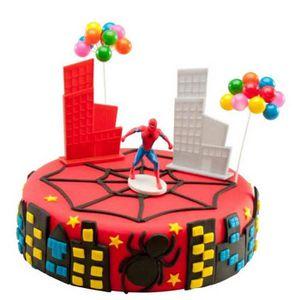 Kit de decoration gateaux achat vente kit de decoration gateaux pas cher cdiscount - Deco anniversaire spiderman ...