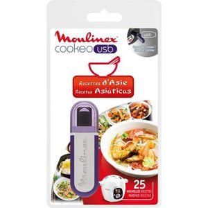 PIÈCE DE PETITE CUISSON Clé USB Recettes d'Asie pour Cookéo USB - MOULINEX