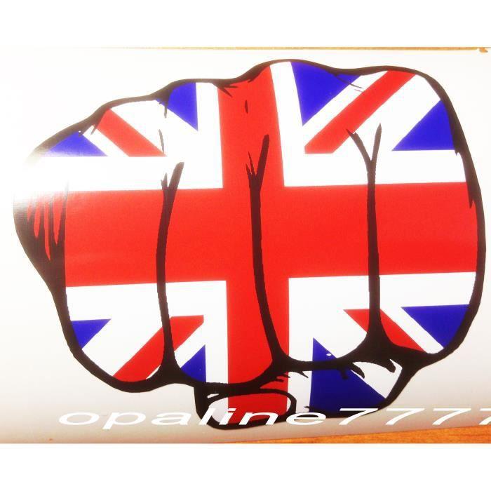 sticker poing drapeau anglais union jack triumph s achat vente accessoire casque sticker. Black Bedroom Furniture Sets. Home Design Ideas