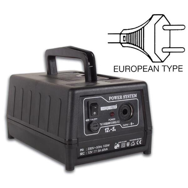 adaptateur avec sortie pour fiches allume cigares 12v 5a prix pas cher cdiscount. Black Bedroom Furniture Sets. Home Design Ideas